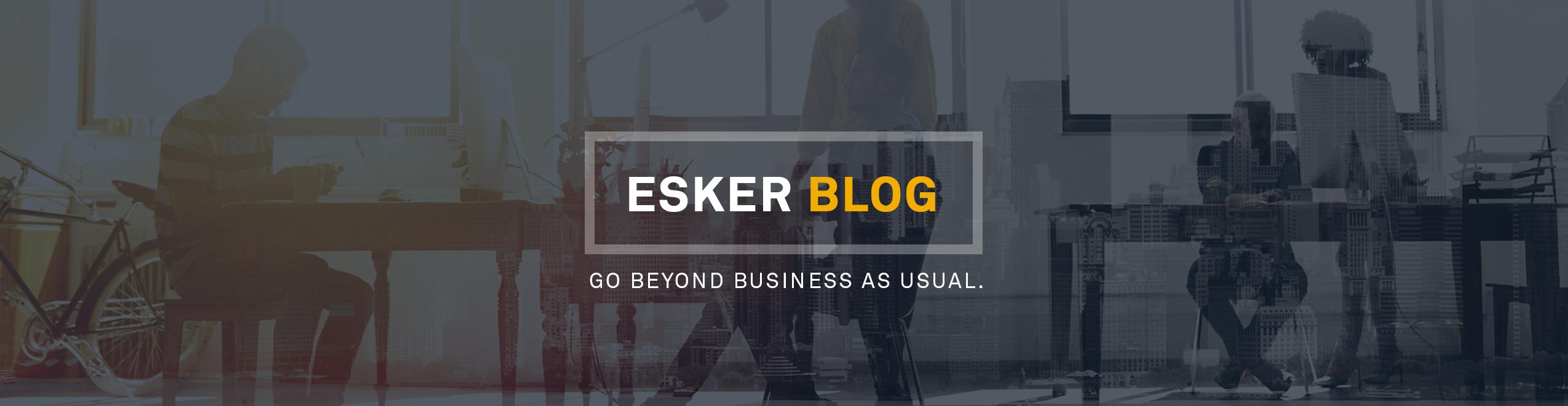 Blog Esker Italia